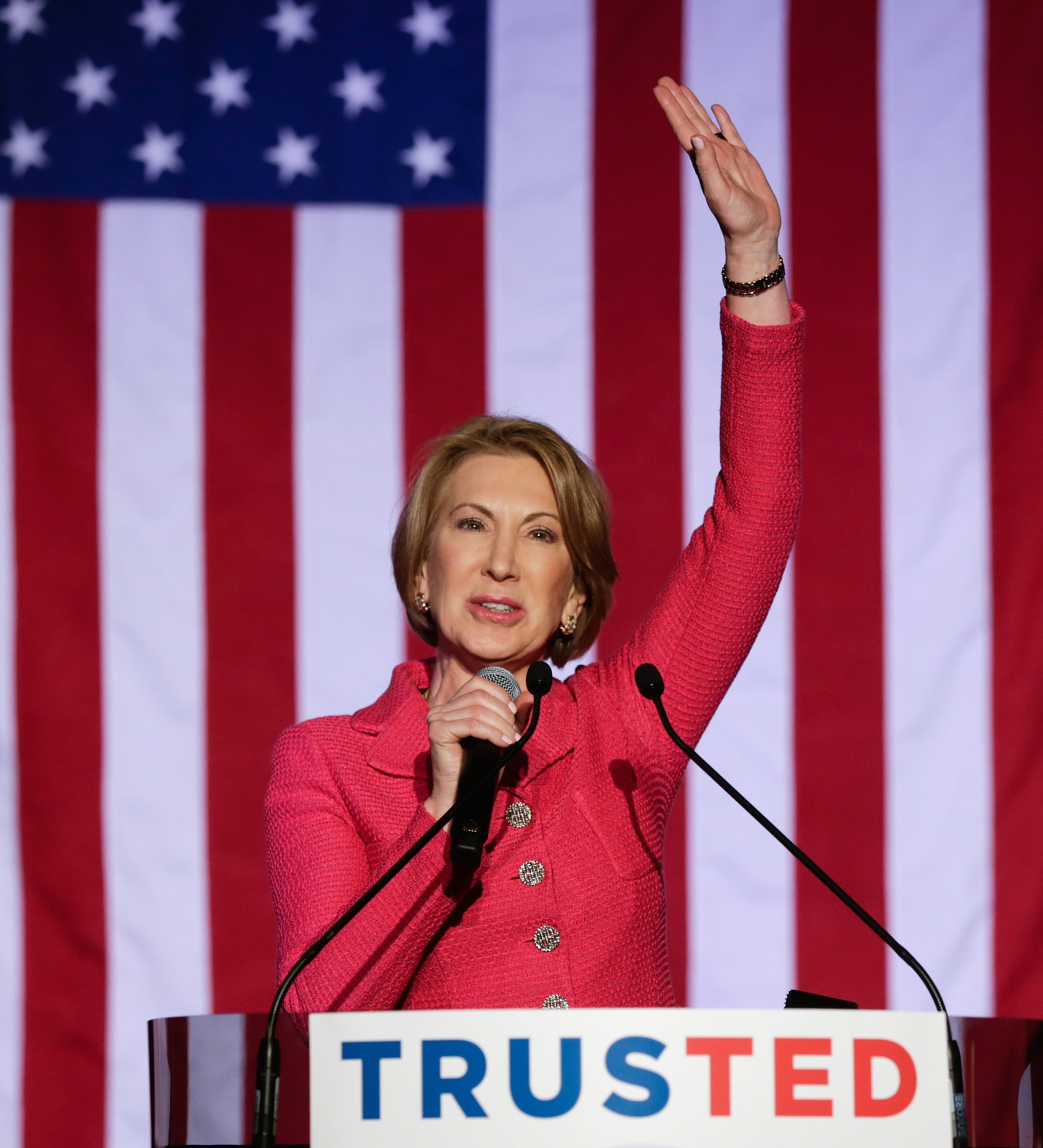 Stephen Colbert Lampoons Ted Cruz's Selection of 'Wicked Stepmother' Carly Fiorina
