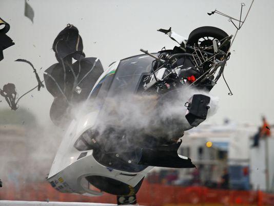 NHRA Pro Mod driver Frigo experiences incredible CRASH in Houston