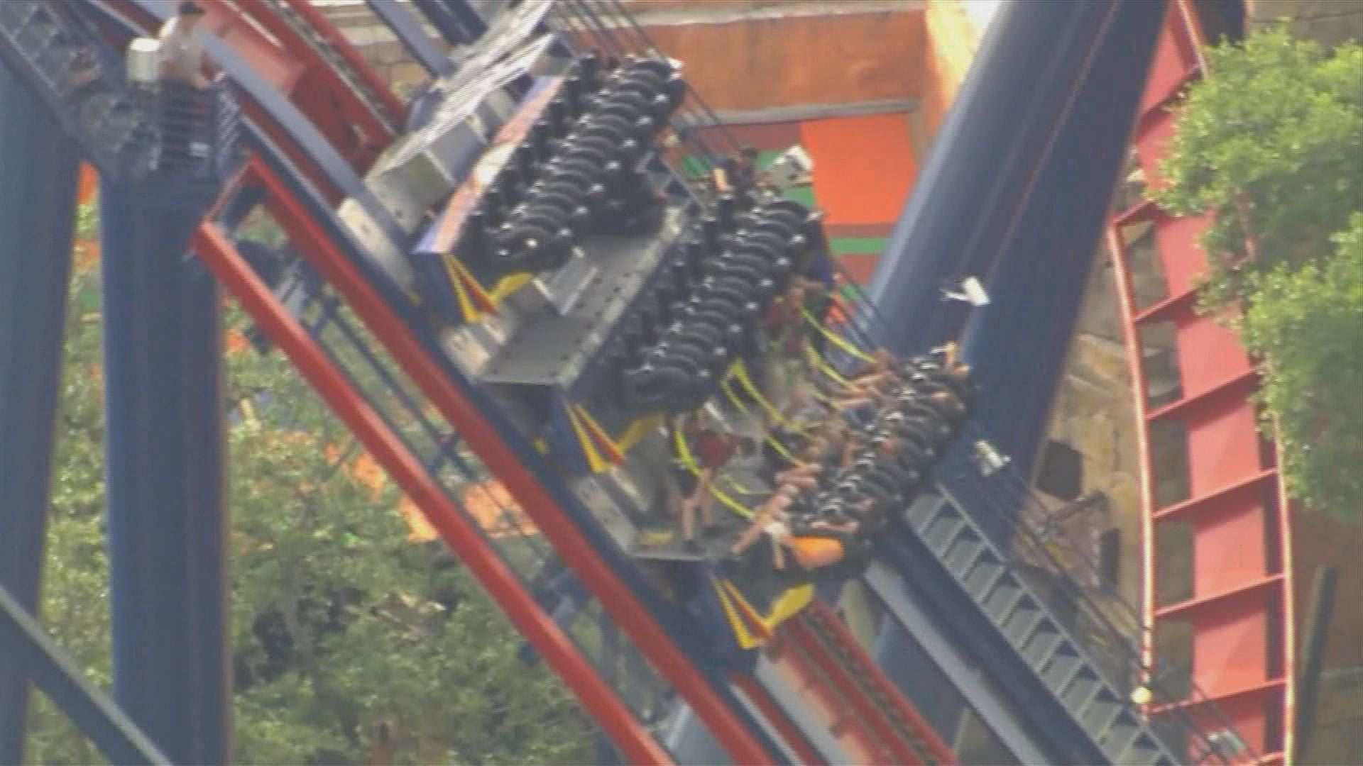 Officilas Still Investigating What Caused Busch Gardens