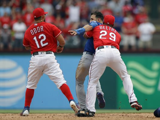 Rougned Odor says he respects Jose Bautista