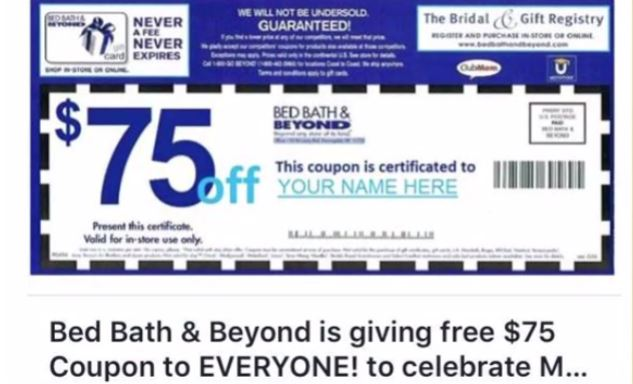 How To Get Bed Bath Beyond Coupon Re Send