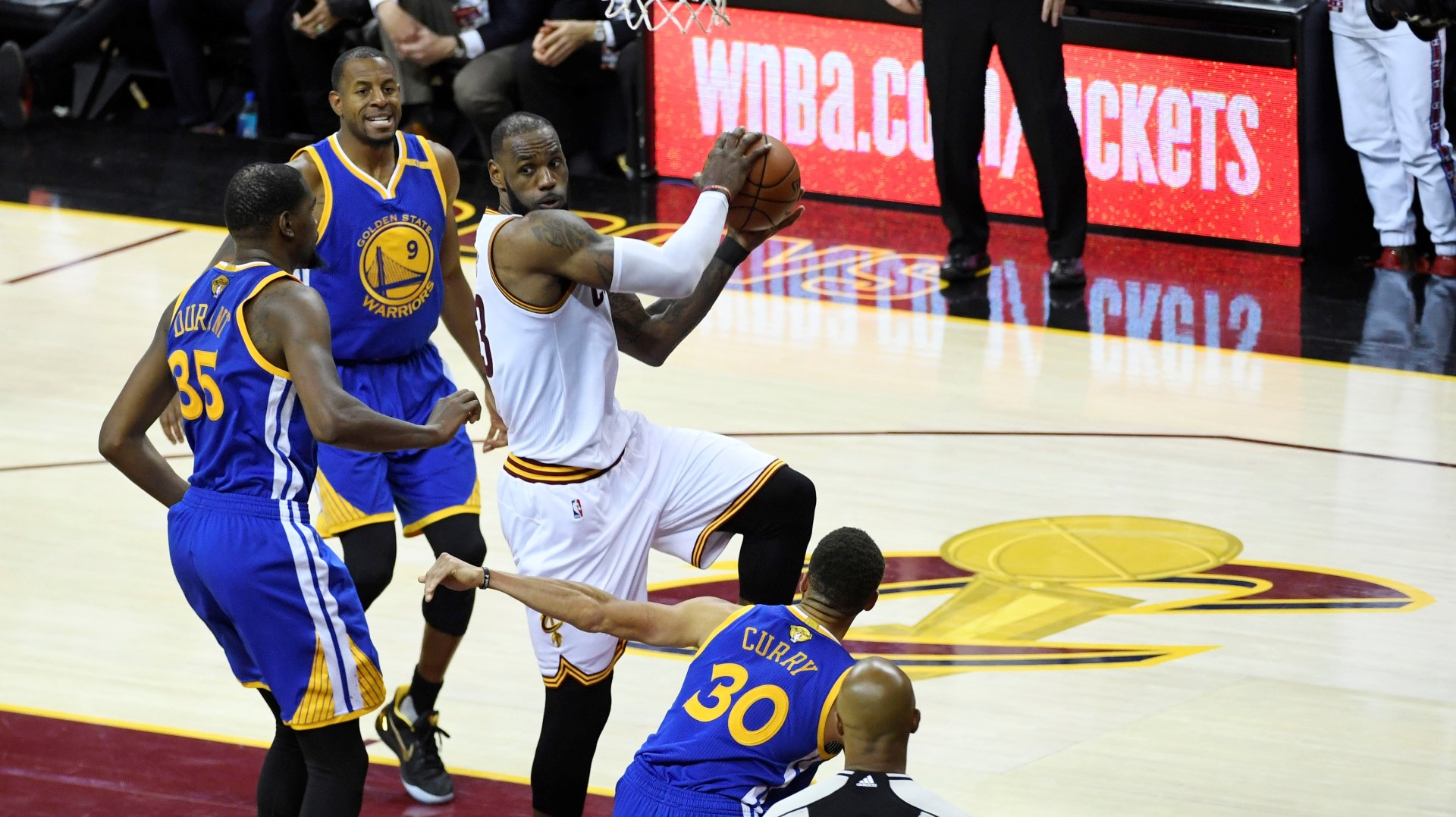 Cavs stave off elimination in Game 4 win over Warriors | WTSP.com