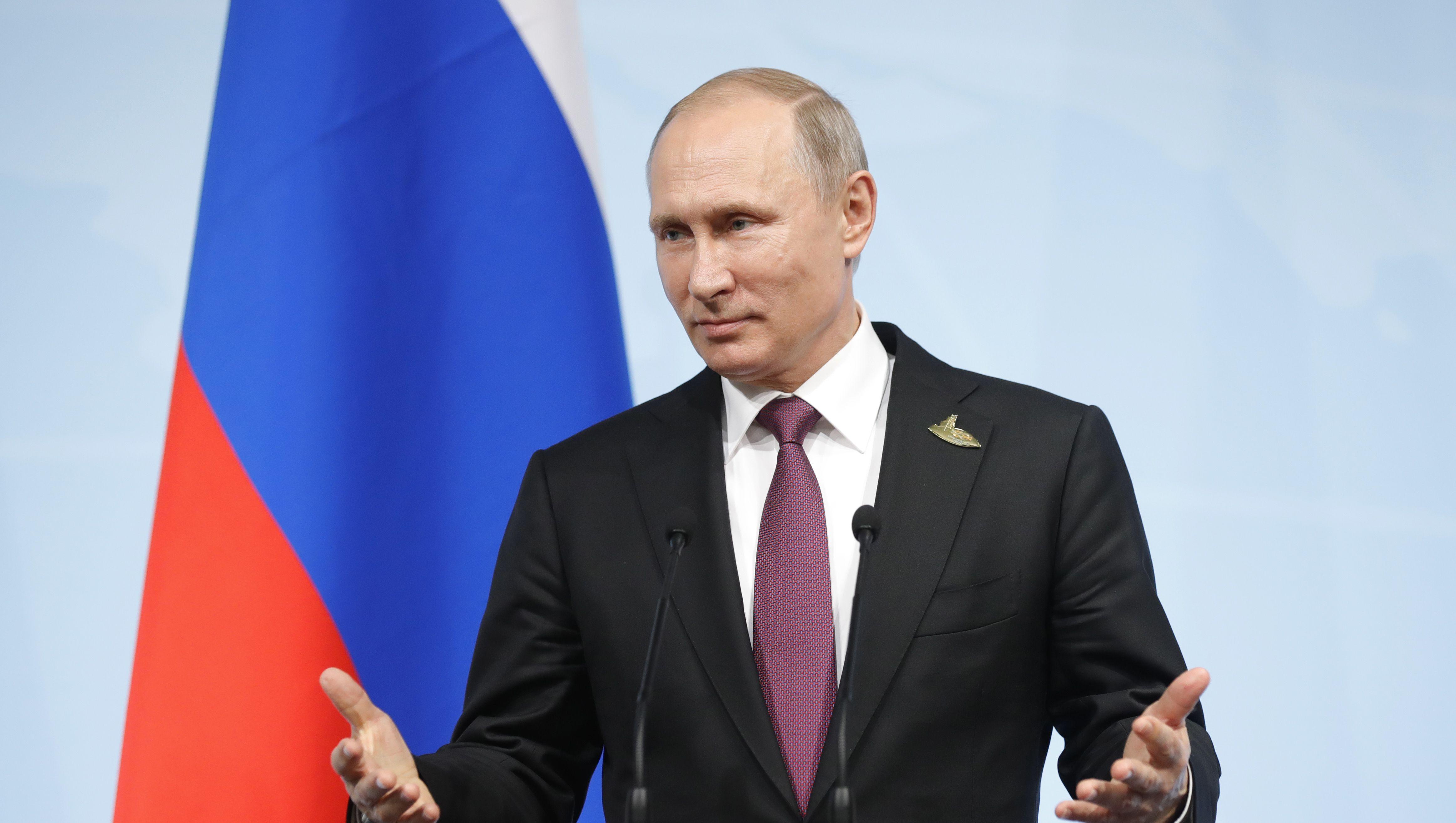 Putin says Americans don't show Trump enough respect