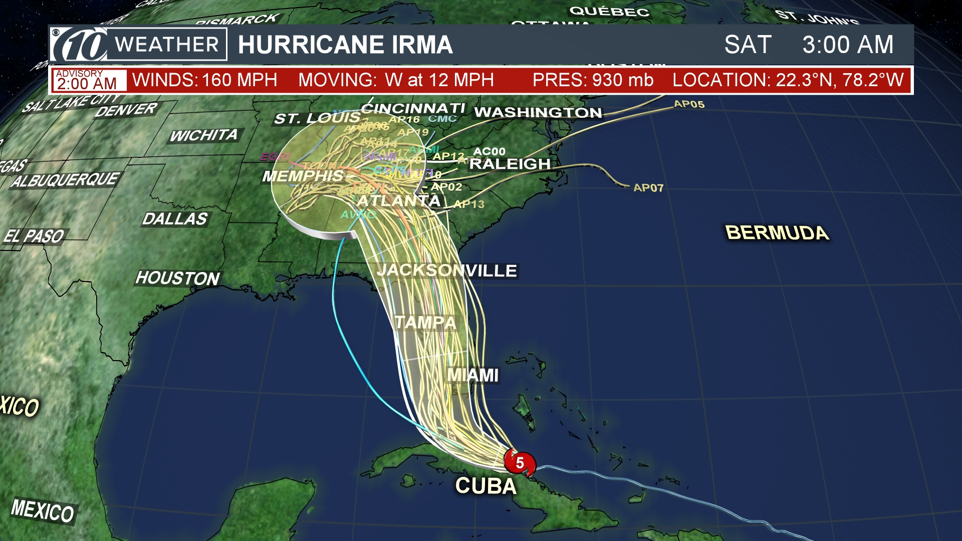 Category 5 Tornado : Hurricane irma makes landfall in cuba as category storm