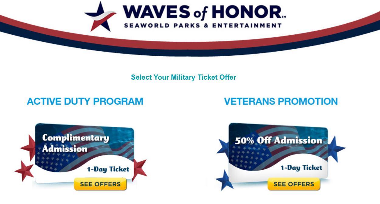 Wonderful Busch Gardens Military Cool Admission To Seaworld